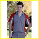 Polo Cool Way Gris/Rojo 927