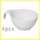 Set 4 Bols Porcelana Bco. 473000230